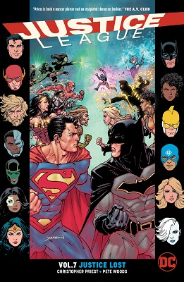 Justice League: Volume 7: Justice Lost TP