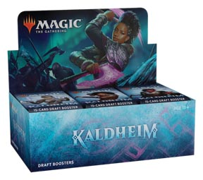 Magic the Gathering: Kaldheim Draft Booster Box (36 packs)