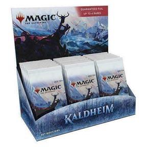 Magic the Gathering: Kaldheim Set Booster Box (30 packs)