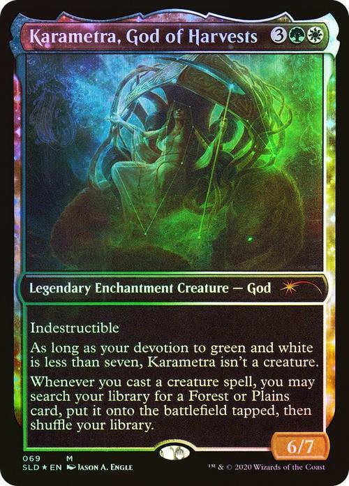 Karametra, God of Harvests - Secret Lair Foil