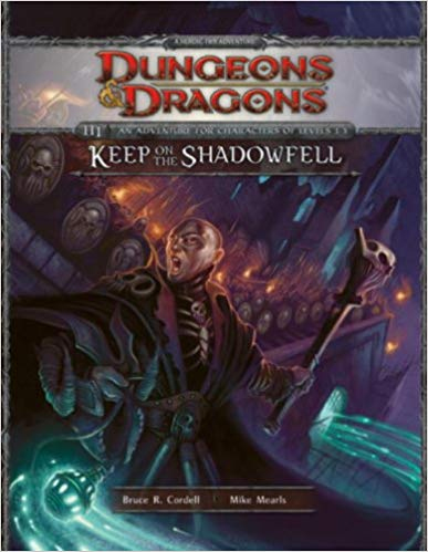 Dungeons and Dragons 4th ed: Keep on the Shadowfell