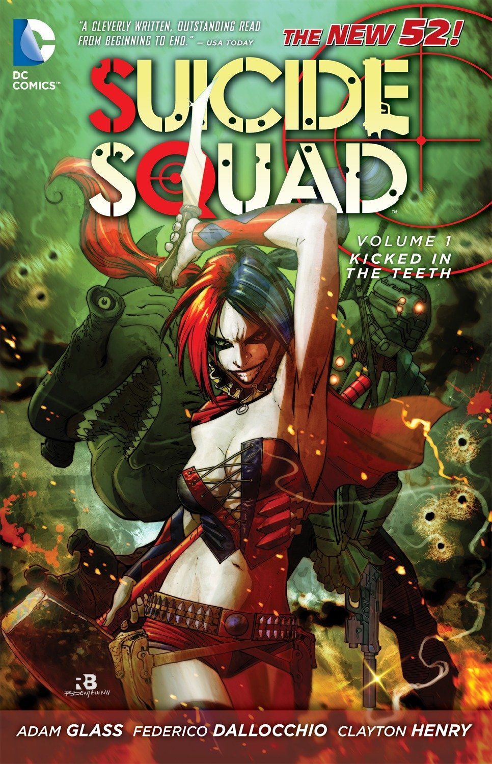 Suicide Squad: Volume 1: Kicked in the Teeth TP - Used