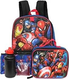 Marvel Universe 5 PC Backpack Set