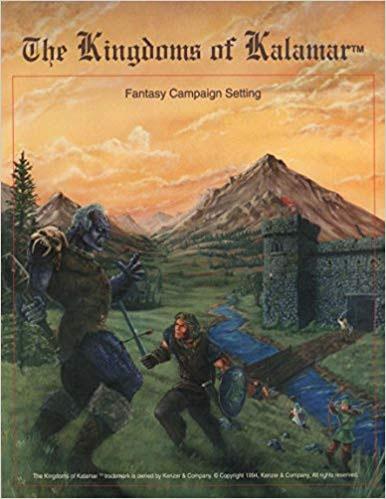 The Kingdoms of Kalamar: Fantasy Campaign Setting - Used