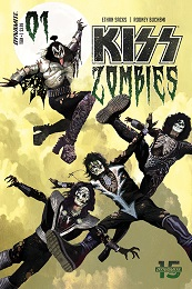 Kiss Zombies no. 1 (2019 Series)