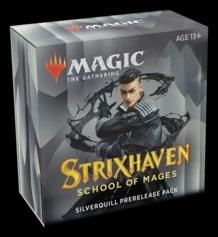 Magic the Gathering: Strixhaven Prerelease Kit - Silverquill (Black/White)