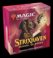 Magic the Gathering: Strixhaven Prerelease Kit - Lorehold (Red/White)