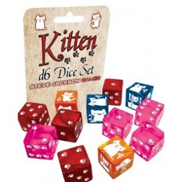 16mm 12D6 Kitten Dice Set