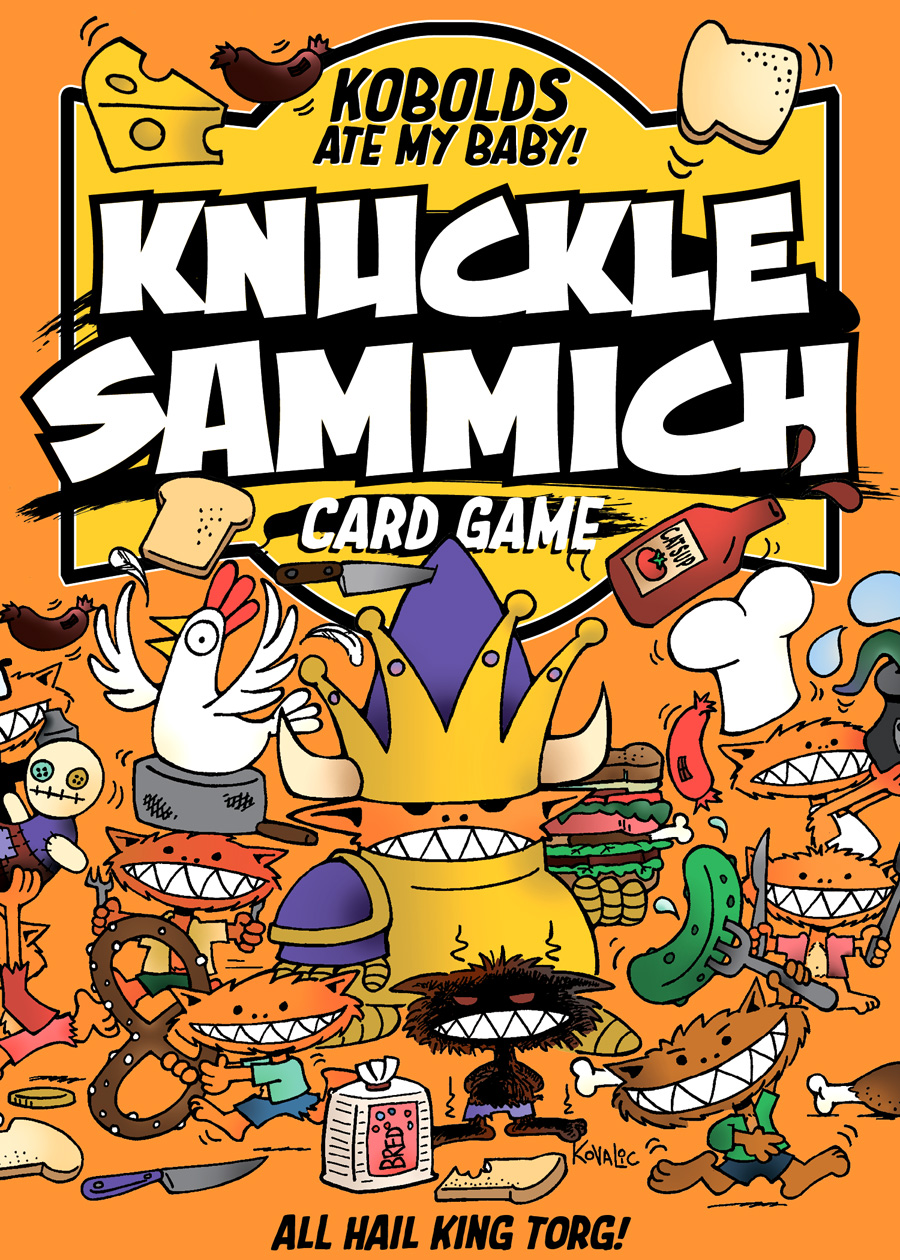 Knuckle Sammich: A Kobolds Ate my Baby Card Game