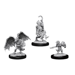 Dungeons and Dragons: Nolzur's Marvelous Unpainted Miniatures Wave 12: Kobold Inventor, Dragonshield and Sorcerer