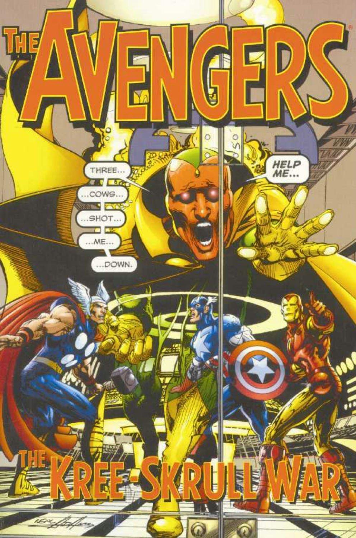 Avengers: The Kree-Skrull War TP - Used