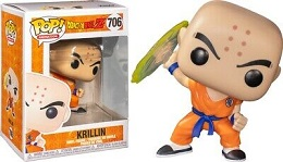 Funko POP: Animation: Dragon Ball Z: Krillin With Destructo Disc