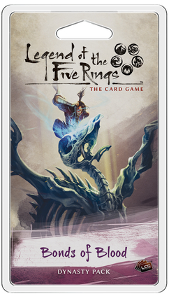Legend of the Five Rings LCG: Bonds of Blood Dynasty Pack