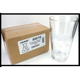 Lab Dice Limited Edition Pint Glass