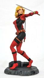 Marvel Gallery: Lady Deadpool Unmasked PVC Statue