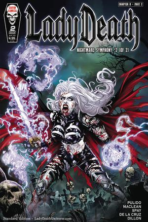 Lady Death: Nightmare Symphony no. 2 (2019 Series) (Standard Cover)