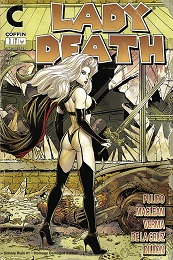 Lady Death: Unholy Ruin no. 1 (2018 Series) (MR) (Damaged Homage Edition)