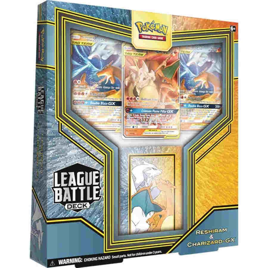 Pokemon TCG: League Battle Deck: Reshiram and Charizard GX