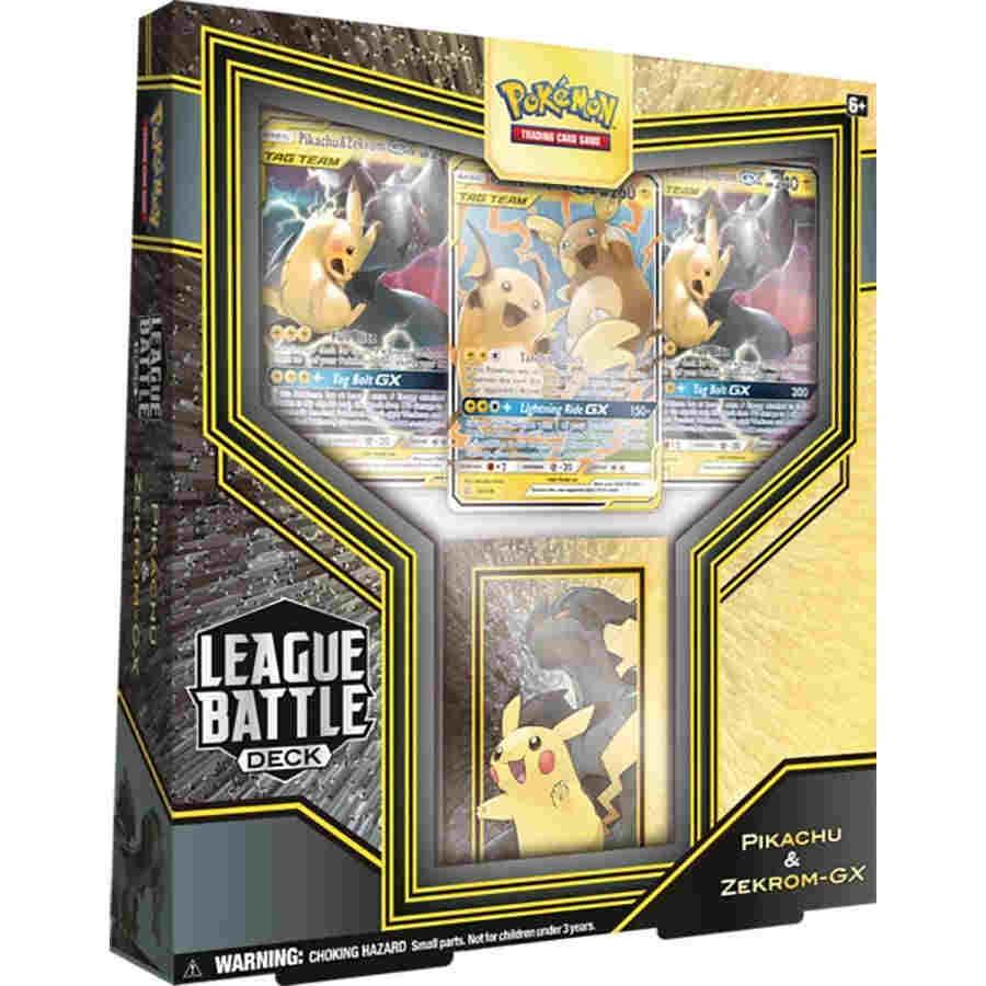 Pokemon TCG: League Battle Deck: Pikachu and Zekrom - GX