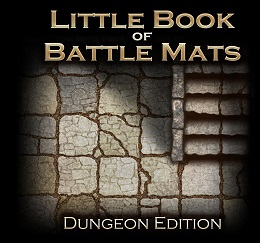 Little Book of Battle Mats: Dungeon Edition - Used