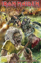 Iron Maiden: Legacy of the Beast Volume 2 no. 5 (5 of 5) (2019 Series)