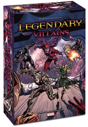 Legendary Villains Deck Building Game