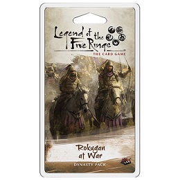 Legend of Five Rings LCG: Rokugan at War Dynasty Pack