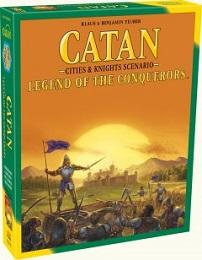 Catan: Legend of the Conquerors Expansion