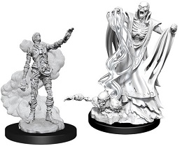 Dungeons and Dragons: Nolzur's Marvelous Unpainted Miniatures Wave 11: Lich and Mummy Lord