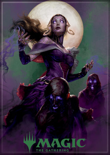 Magic the Gathering Magnet 2.5 X 3.5: Liliana
