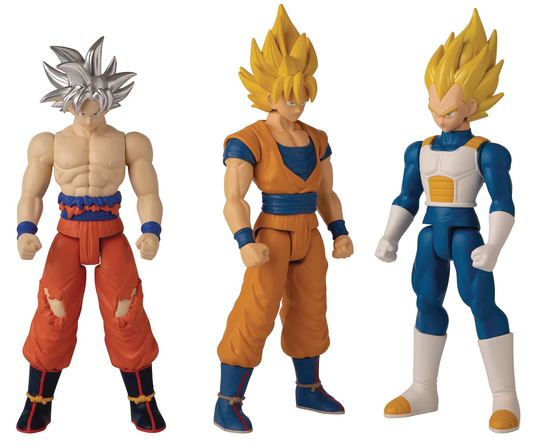 Dragon Ball Super: Limit Breaker Action Figure: Super Saiyan Goku