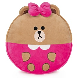 Plushie: LINE FRIENDS Choco Pillow