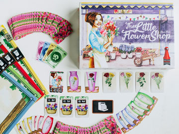 The Little Flower Shop Card Game