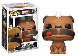 Funko POP: Marvel: Lockjaw- Used