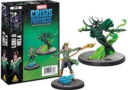 Marvel Crisis Protocol: Loki and Hela Character Pack