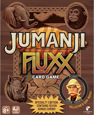 Jumanji Fluxx: Special Edition Card Game