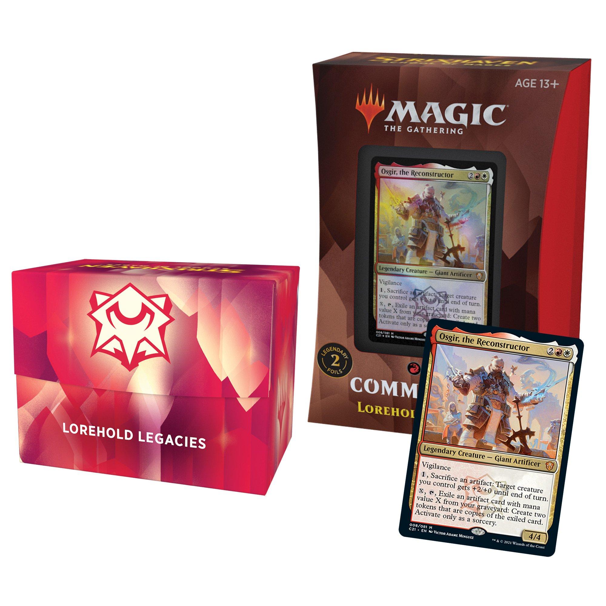 Magic the Gathering: Commander 2021: Lorehold Legacies