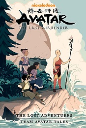 Avatar the Last Airbender: Lost Adventures Library Edition HC