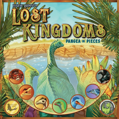 Lost Kingdoms - Pangea in Pieces Board Game