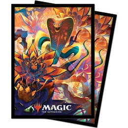 Deck Protector: Magic the Gathering: Zendikar Rising: Lotus Cobra V5 (100 Sleeves)