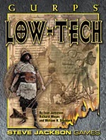 Gurps: Low-Tech First Edition - Used