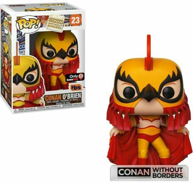 Funko POP: Conan OBrien: Luchador Conan - Used