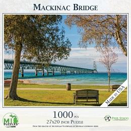 Mackinac Bridge Puzzle (1000 Pieces)