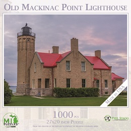 Old Mackinac Point Lighthouse Puzzle (1000 Pieces)