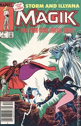 Magik: Storm and Illyana (1983 Series) Complete Bundle - Used