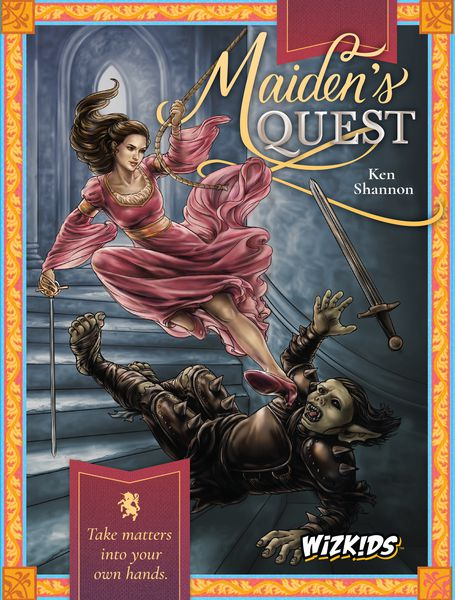 Maidens Quest Card Game