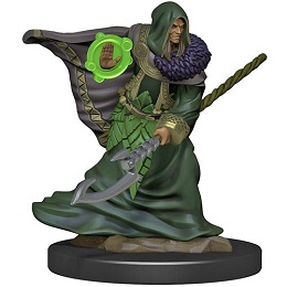 Dungeons and Dragons Fantasy Miniatures: Icons of the Realms Premium Figure: Elf Male Druid