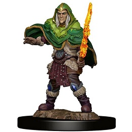 Dungeons and Dragons Fantasy Miniatures: Icons of the Realms Premium Figure: Elf Male Fighter