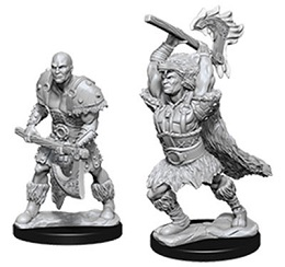Dungeons and Dragons: Nolzur's Marvelous Unpainted Miniatures: Male Goliath Barbarian