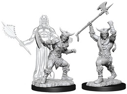 Dungeons and Dragons: Nolzur's Marvelous Unpainted Miniatures Wave 11: Male Human Barbarian